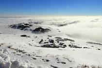 Schneeberg - 25.Oktober 2014_024 - Blick zurück mit leichtem Nebel