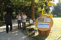 NK_Stadtpark_2013-09-07_026 - Die Lautsprecheranlage wird installiert..