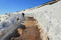 Schneeberg - 25.Oktober 2014_125 _ der Schnee war weiß als wir am Morgen kamen.