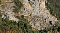 Rax - 06.Oktober 2012 - Blick zum Törlweg