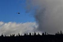 Rax - 18.Oktober 2014 - Hubschrauber