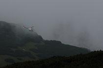 Hubschrauber bei Bauarbeiten bei der Fischerhütte - 073