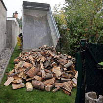 ...und alles Holz...