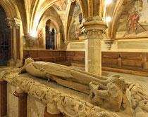 Stift Heiligenkreuz - 17.November 2014_056 Er war ein überaus großzügiger Förderer von Heiligenkreuz.