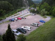 Rax - 19.Juni 2006 - in der Gondel