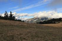 Rax - 18.Oktober 2014- Schneeberg noch zu sehen