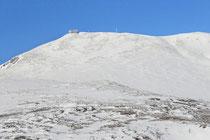 Schneeberg - 25.Oktober 2014_048 - Klosterwappen 2075 m