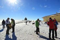 Schneeberg - 25.Oktober 2014_013 - ...und hier oben oben ist herrlichstes Kaiser-Wetter.