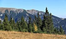 Rax - 06.Oktober 2012 - wieder ein Blick zum Schneeberg