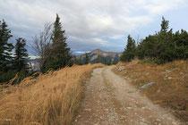 Rax - 02.November 2013 - Blick zum Schneeberg