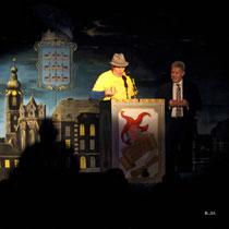 NK Faschingssitzung - 09.Jänner 2015 - Nr.059 - Der Buagamasta Mollram - Manfred Pürzel