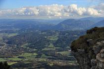 Rax - 02.November 2013 - Blick ins Tal von der Vilma Haid Aussicht.