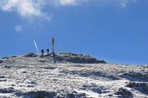Schneeberg - 25.Oktober 2014_090 -...die den Gipfel...