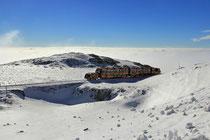Schneeberg - 25.Oktober 2014_019 - ...mit 9,7 km Strecke, ist sie die längste Zahnradbahn Österreichs...