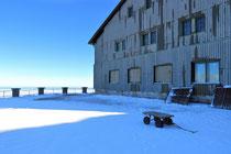 Schneeberg - 25.Oktober 2014_143 - und sehen, das ds Haus winterfest gemacht wird.