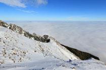 Schneeberg - 25.Oktober 2014_009 - ...über den Wolken.