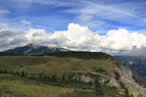 Rax - 16.August 2011 - und nochals von der Vilma Haid Aussicht zum Schneeberg