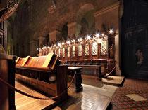 Stift Heiligenkreuz - 17.November 2014_089 - Das Chorgestühl dient dem feierlichen Chorgebet der Mönche, hier versammeln sie sich siebenmal am Tag.