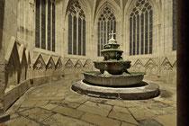 Stift Heiligenkreuz - 17.November 2014_063 Heute hat jeder Mönch fließendes Wasser auf seiner Zelle, im Mittelalter war das Brunnenhaus die einzige Wasserquelle der ganzen Klosteranlage.