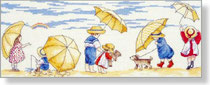 Parasols on the Beach