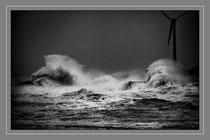 La mer en colère