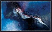 Kunst von Gabriele Musebrink - Der Sprung 250 x 150 cm