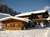 Landhaus Braun im Winter