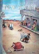 """(Portada de Gary Larson en """"The New Yorker"""" 17-11-2003)"""