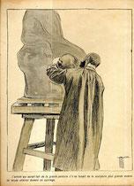 10-El artista que habría hecho gran pintura si no hiciese una escultura aún más grande. No admirarle se convierte en un sacrilegio.