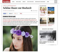 schoene-haare-zur-hochzeit/ Brauthaarschmuck Haarkränze