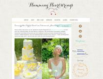 Haarschmuck Seide, Blüten, Haarkranz in gelb und ivory
