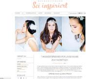 7 Hochzeitsfrisuren für lange Haare zum Nachstylen mit Brauthaarschmuck