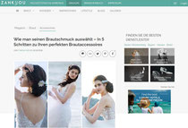 Brauthaarschmuck Guide Zankyou Haarschmuck für die Hochzeit und Braut
