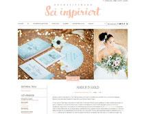 Hochzeit Inspiration Gold Rorgold Elfenbeinfarben mit Schönemich Brautaarschmuck