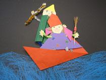 Trickfilm mit Figuren aus gefaltetem Papier und einer Trickboxx in der Kita