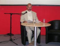 Buchpräsentation auf der Frankfurter Buchmesse