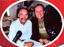 Mit Rainer Sander im gemeinsamen Programm