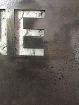 Joseph (Thierry Michelet) finition du métal oxydé et vernis brilant.  josephartwork