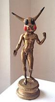 "Philippe Berry-""Pikatchu"" sculpture en bronze"
