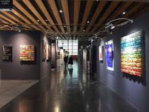 Art Up 2017-Galerie Gabel avec Thierry Michelet dit Joseph  et René Galassi.Galerie d'art contemporain-Biot-Nice-Valbonne-Cannes-Saint Paul de Vence