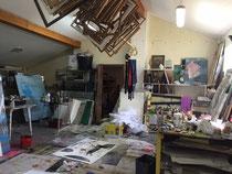 l'atelier de Matthieu Astoux-Atelier d'artiste-gravure