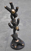 Philippe Berry-Trois oursons-Bronze 28/50 ex-Galerie Gabel-galerie d'art contemporain Biot-France
