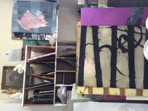 l'atelier de Matthieu Astoux-Atelier d'artiste