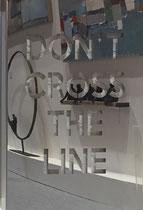 Joseph  (Thierry Michelet)-81X61cm-Inox poli miroir en décalé sur panneau de mortier chaulé.