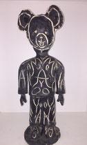 Moya-sculpture en céramique-Mickey-Moya-pièce unique-galerie d'art du sud de la France-galerie Gabel-BIOT