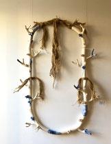 """Mélanie Broglio-""""Collier de maison"""" -Galerie Gabel -Biot-Côte d'Azur"""