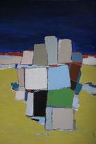 Anne Gaëlle Arnaud huile sur toile -Galerie Gabel Biot-Village provençal