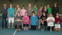 Tennis-Abend in der Tennishalle in Groß-Bieberau 2012