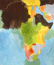Kongo, 1999, 140 x 115 cm, acrylic on canvas