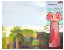 you are drifting too far, 2008, 190 x 239 cm, oil on canvas